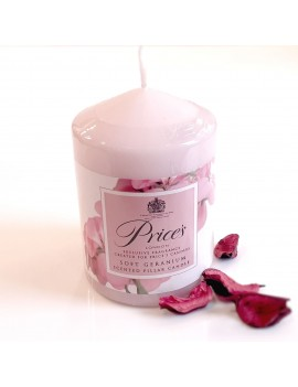 Prices Soft Geranium Candle