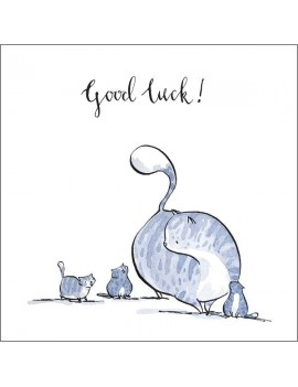 """Good Luck"" Greetings Card"