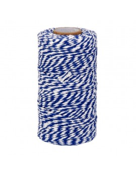Blue and White Cotton Twine