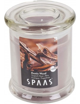 Spaas Exotic Wood Candle 60h