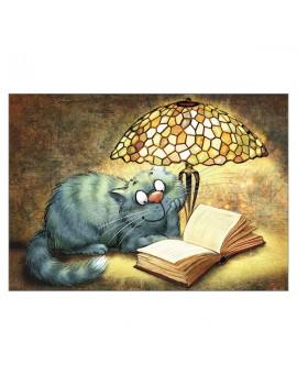 Lamp Greetings Card
