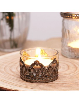 Clear Tealight Holder (4 X...