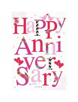 Happy Anniversary Card By...
